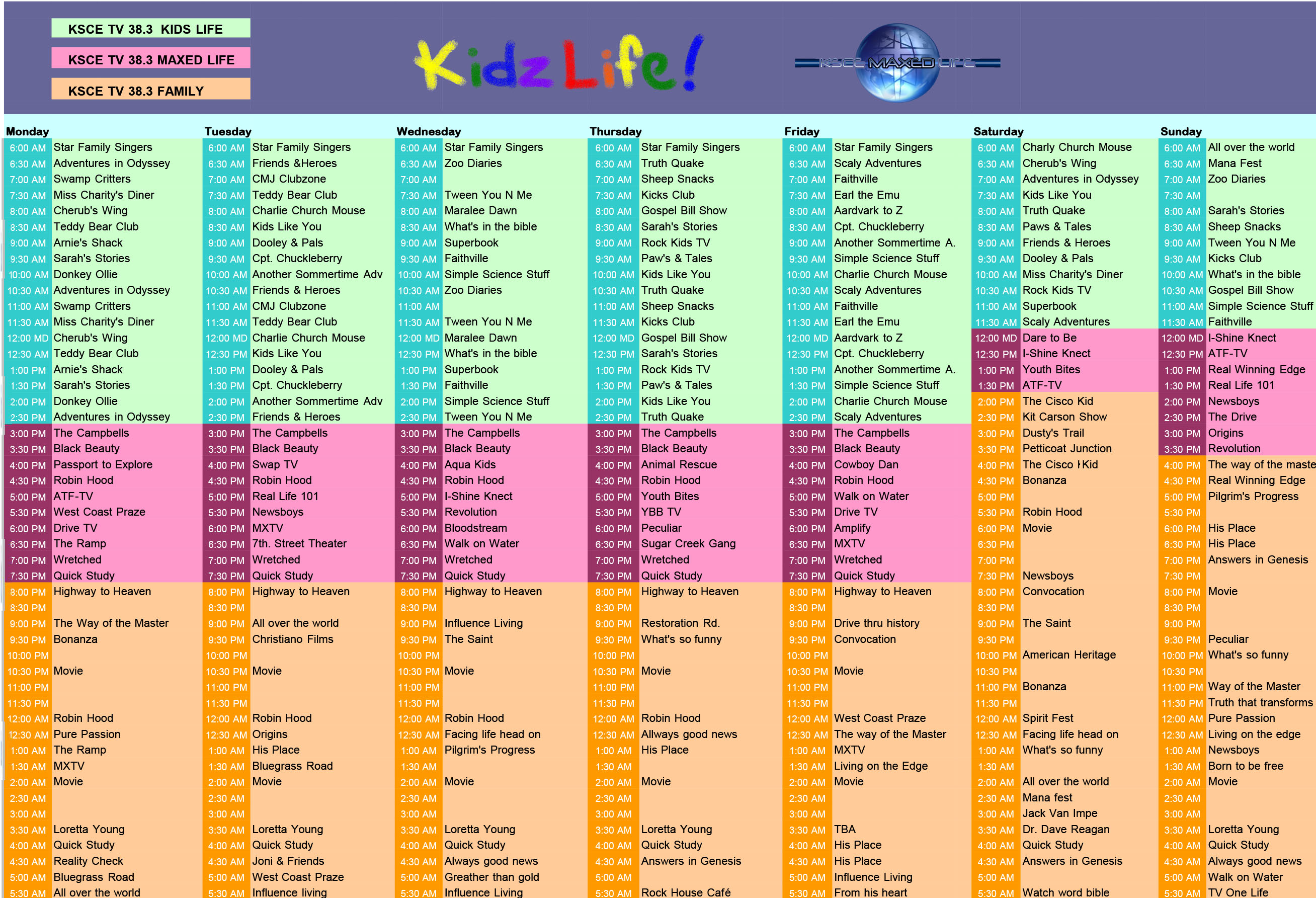 kids & youth channel | life! christian broadcasting network