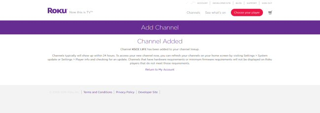 How to Watch KSCE on Roku | KSCE Christian Television